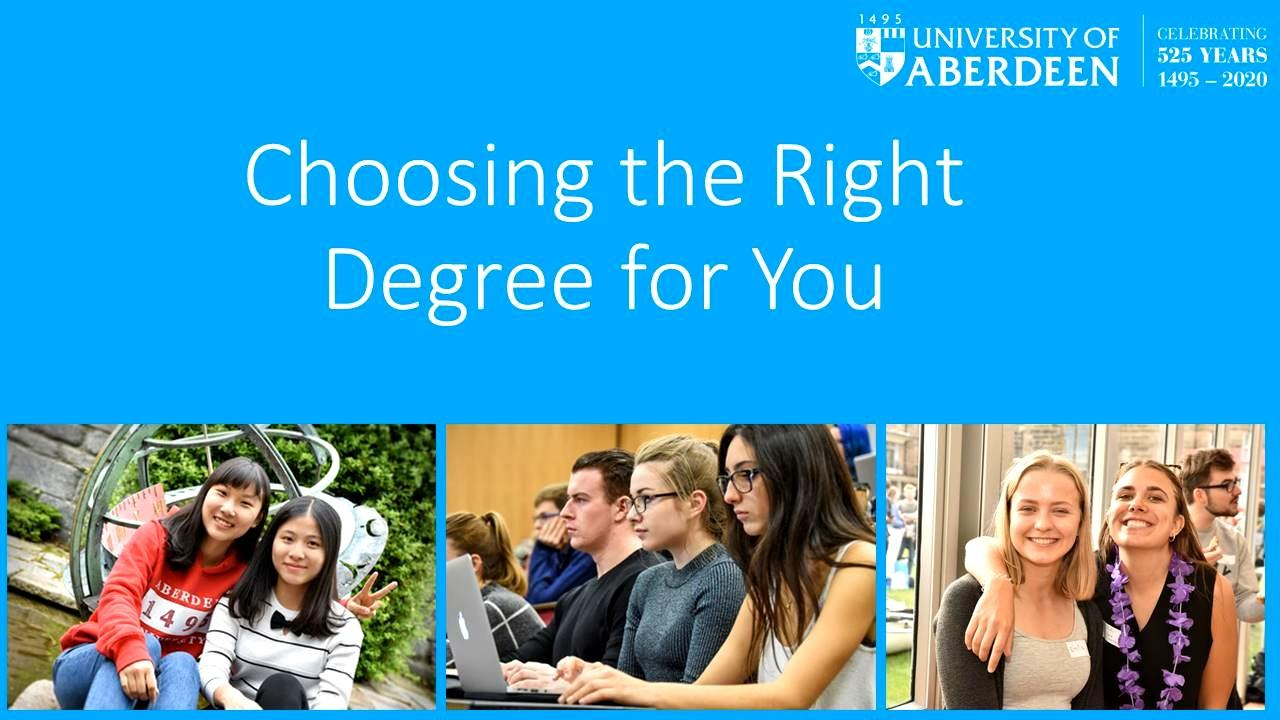 Choosing the Right Degree for You