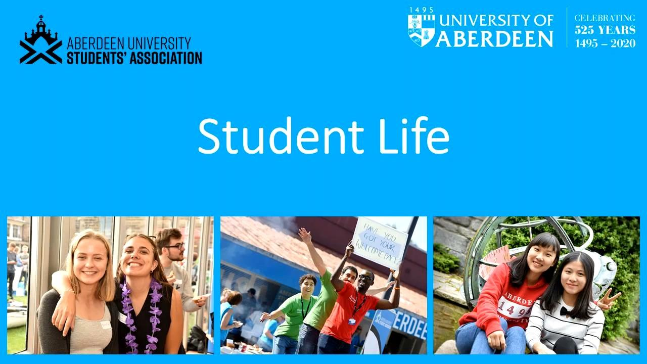 Student Life presentation