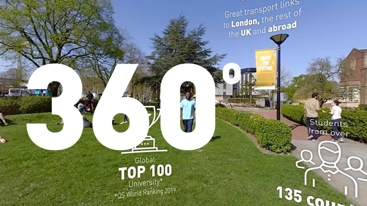 A 360 city experience - University of Southampton