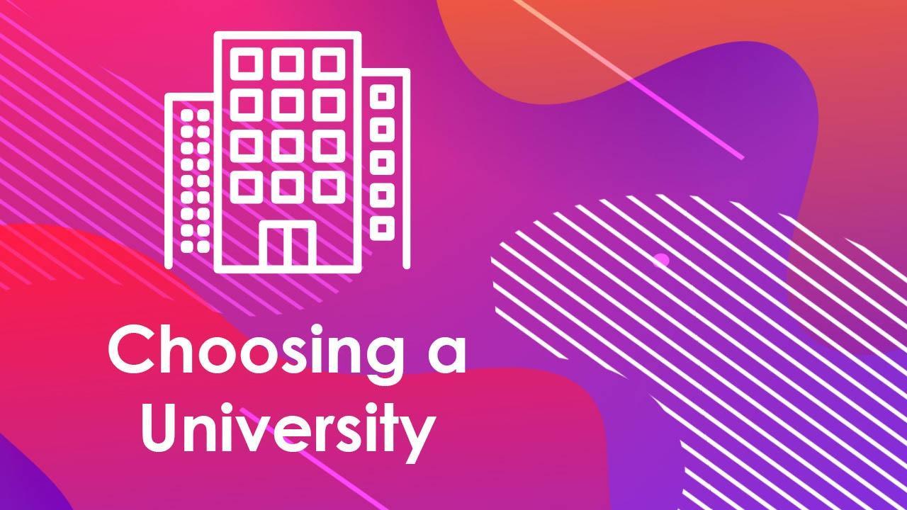 Top Tips: Choosing a University