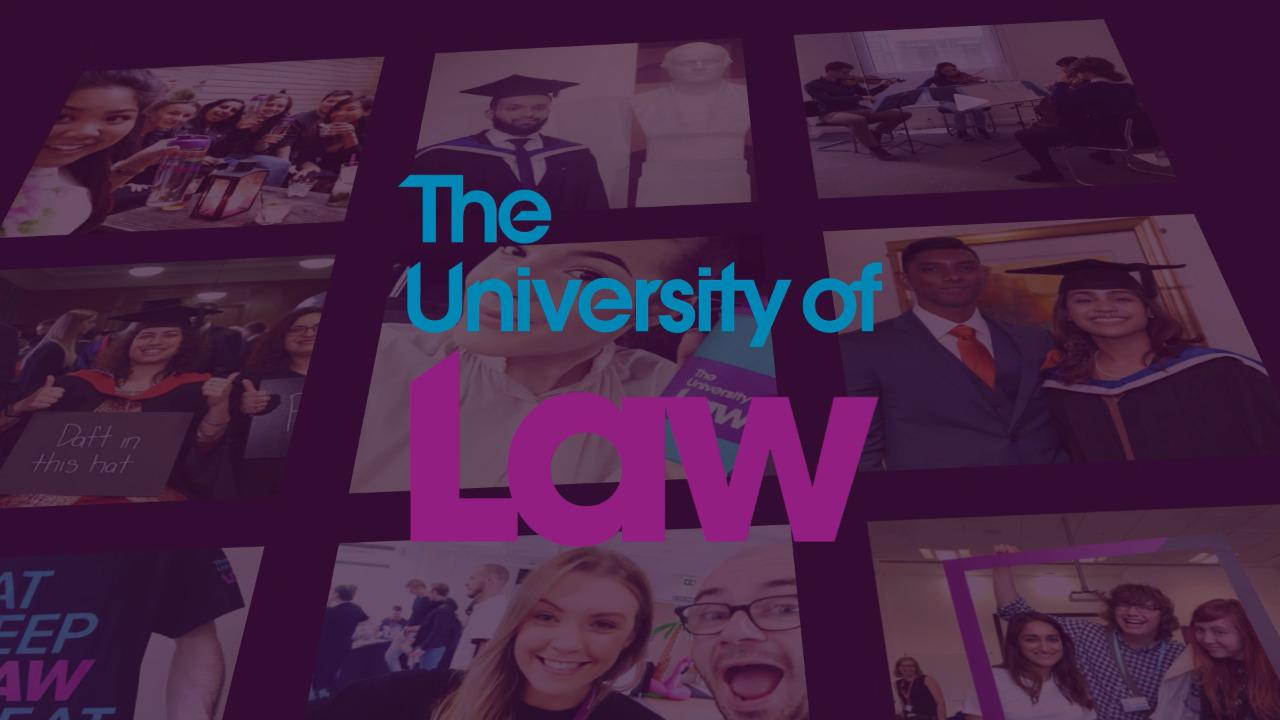 Introduction to The University of Law