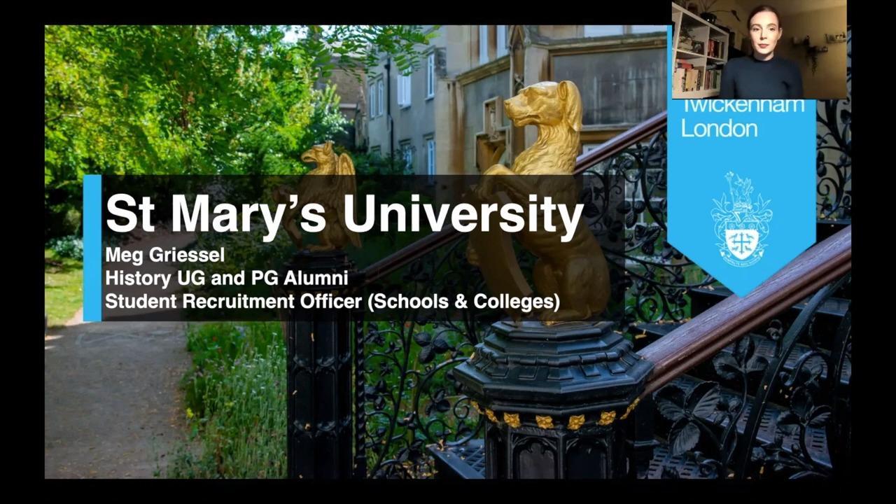 About St Mary's University, Twickenham