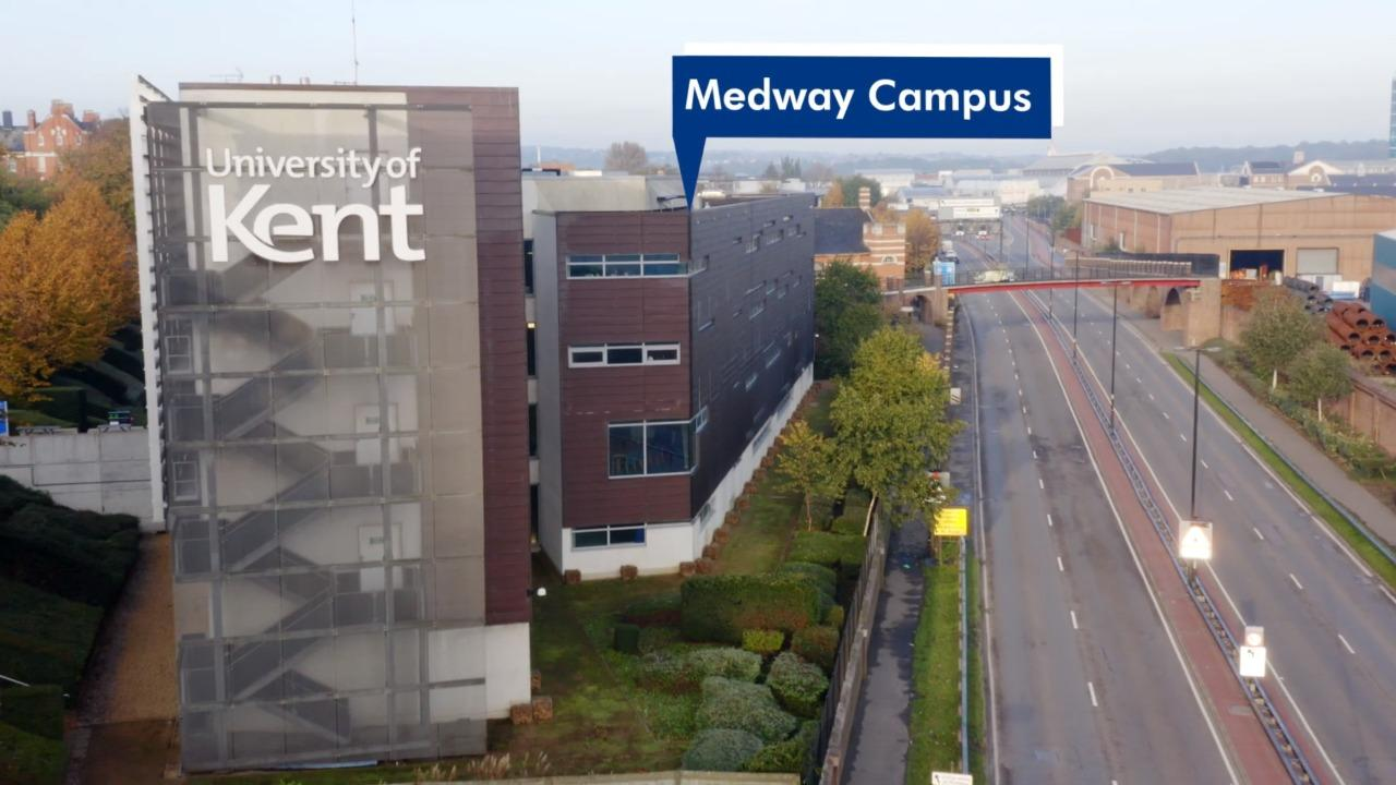 Medway Campus by Air | University of Kent
