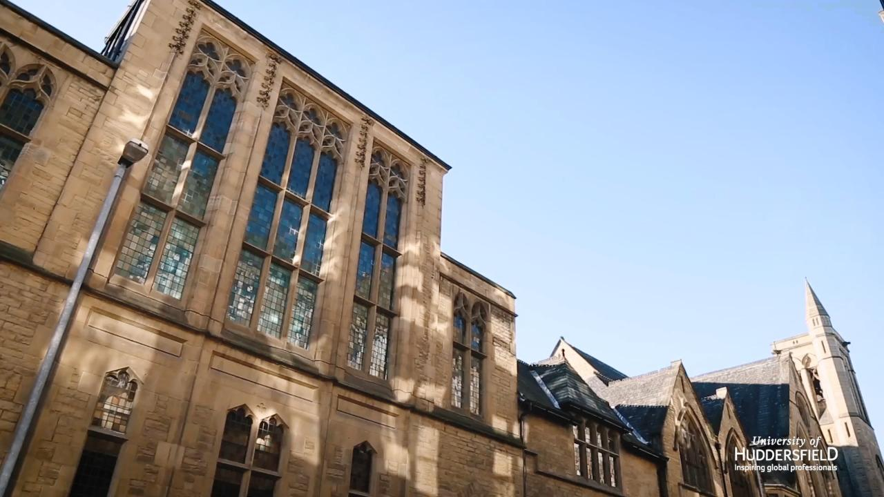 Why I chose The University of Huddersfield
