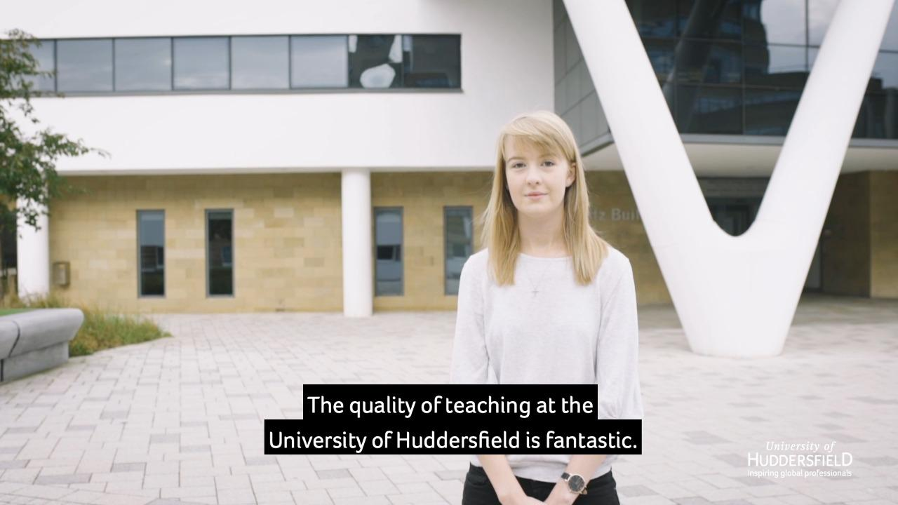 Teaching excellence at The University of Huddersfield