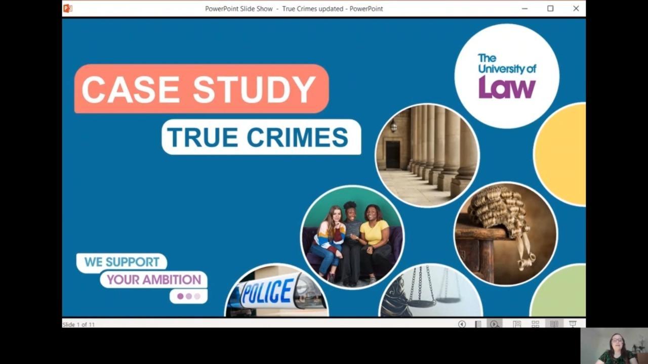 True Crime Presentation