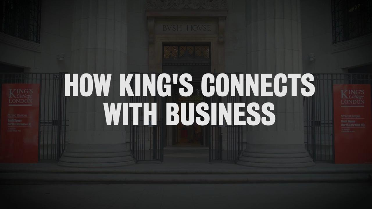 Discover: Business at King's College London