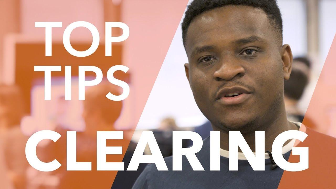 Clearing: Top Tips!