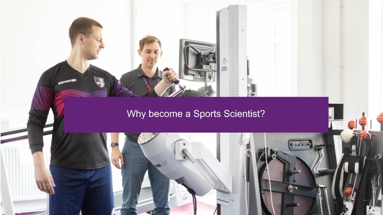Why Become a Sports Scientist?