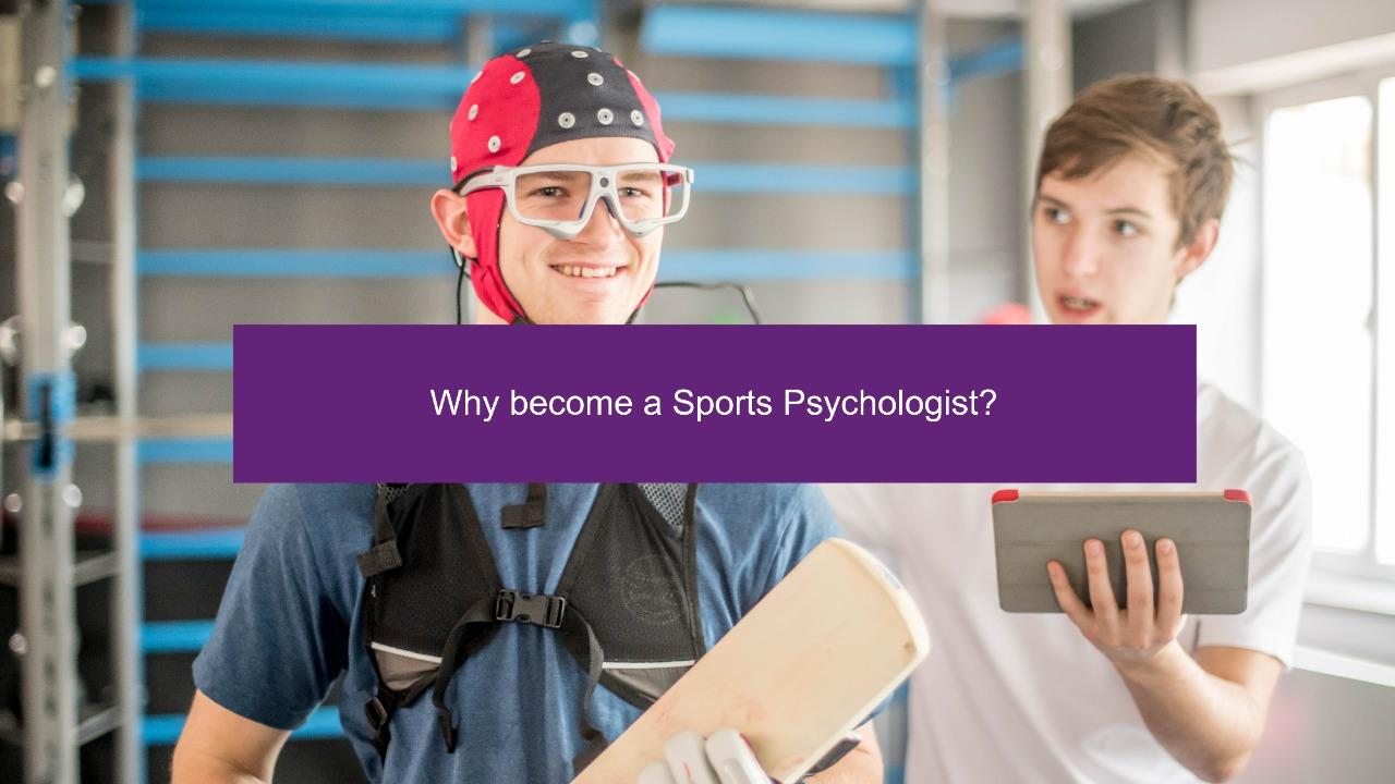 Why become a Sports Psychologist?